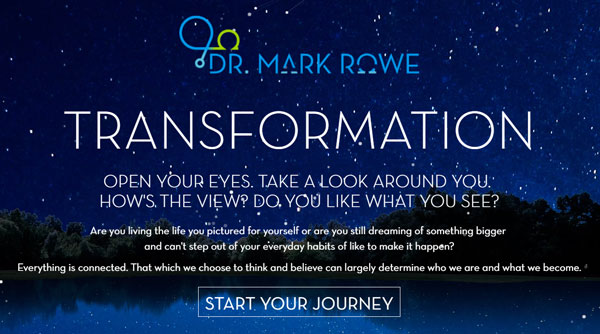 Dr. Mark Rowe - Blog